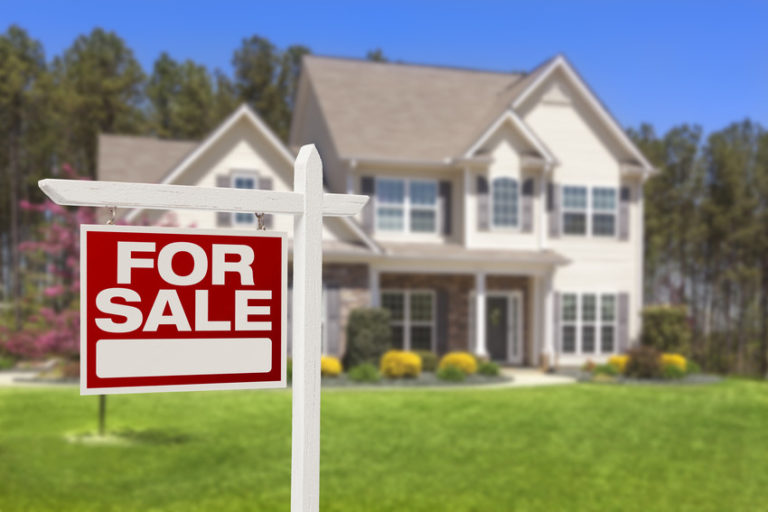 Sell your home sign