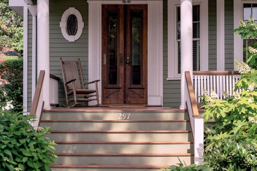 Front porch before you sell your home